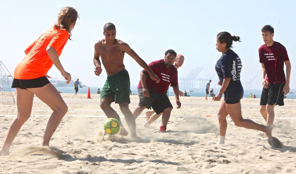 beach soccer league volitude sports