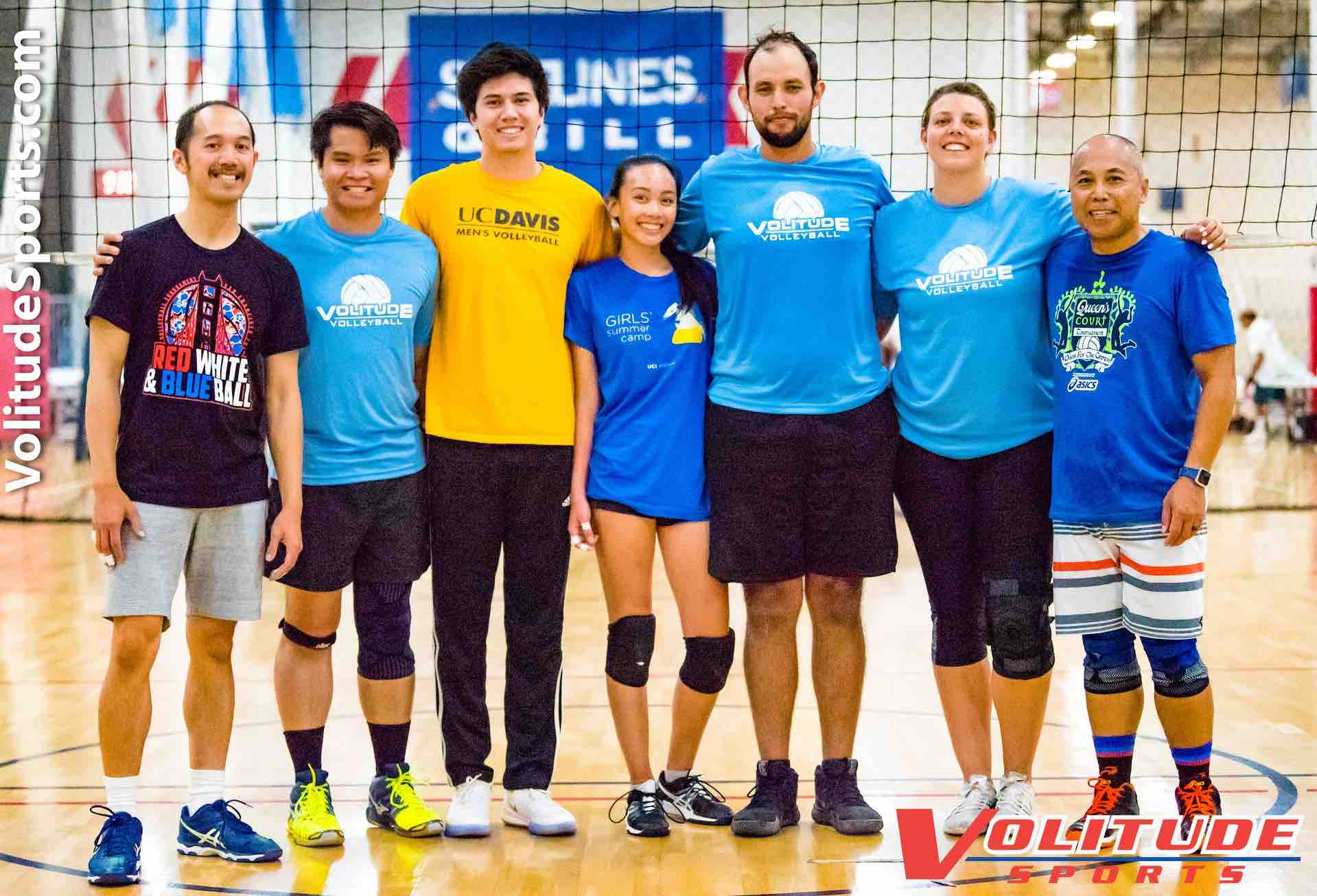 indoor volleyball league Anaheim