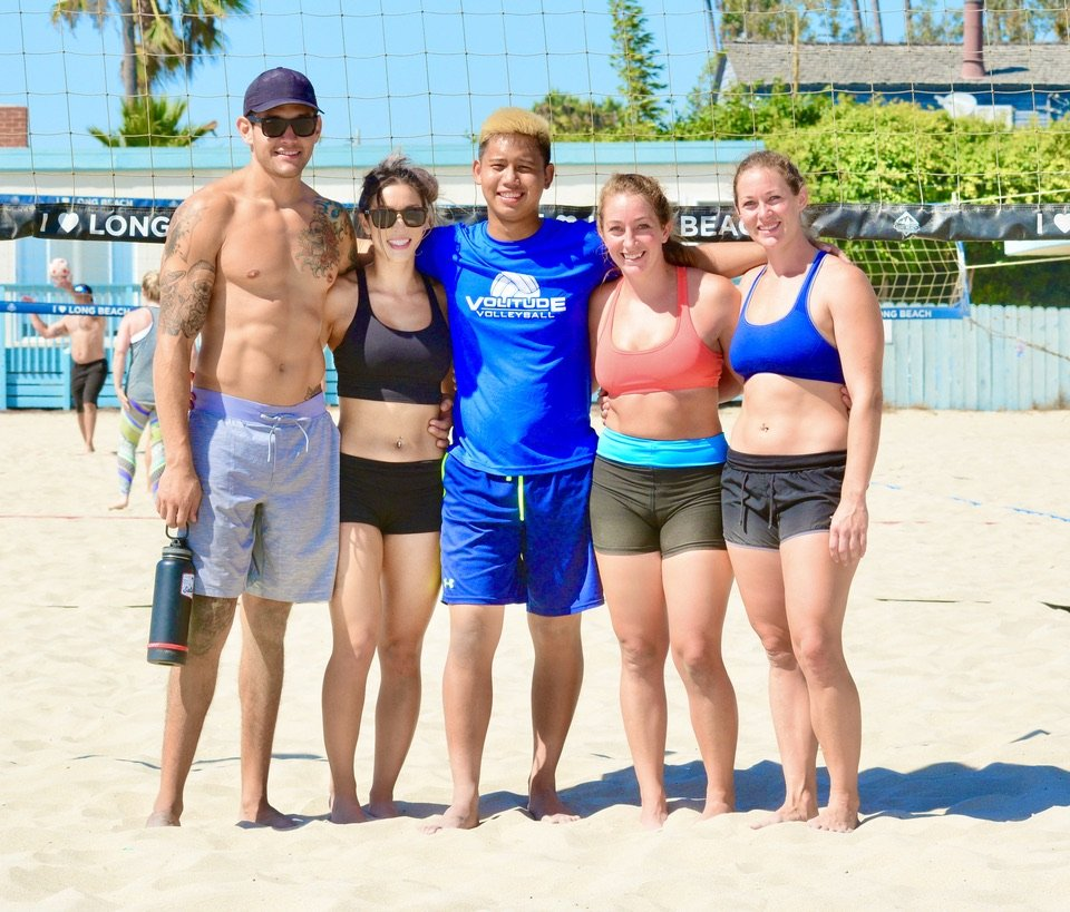 beach volleyball league Long Beach