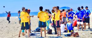 Teams Forming Up flag football beach soccer leagues Long Beach California